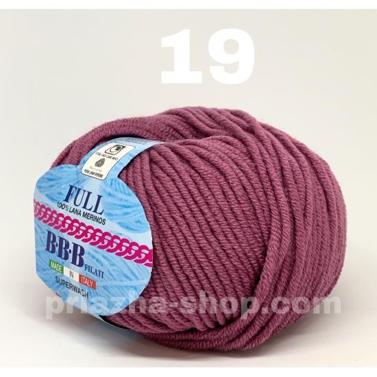 """пряжа bbb full 19 ( ббб фулл ) для вязания шапочек, джемперов, кардиганов, шарфиков, перчаток, различных аксессуаров - купить в украине в интернет-магазине """"пряжа-shop"""" 2396 priazha-shop.com 2"""