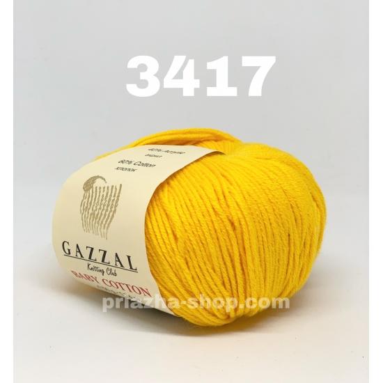 """пряжа gazzal baby cotton 3417 ( газзал беби коттон ) для вязания одежды взрослым и детям, ажурных изделий, игрушек и аксессуаров необъятной цветовой палитры - купить в украине в интернет-магазине """"пряжа-shop"""" 582 priazha-shop.com 2"""