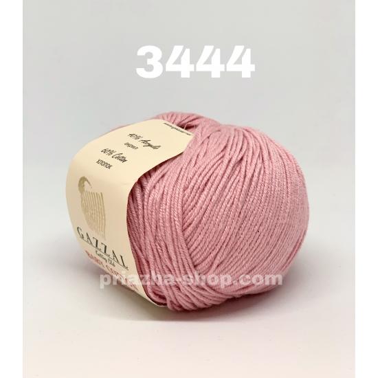 """пряжа gazzal baby cotton 3444 ( газзал беби коттон ) для вязания одежды взрослым и детям, ажурных изделий, игрушек и аксессуаров необъятной цветовой палитры - купить в украине в интернет-магазине """"пряжа-shop"""" 617 priazha-shop.com 2"""