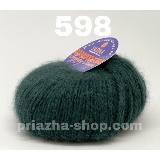 """пряжа yarna puffo angora 598 ( ярна пуффо ангора ) для вязания для шапок, варежек, шарфов, шалей, кардиганов, свитеров, кофт, лёгких и воздушных теплых аксессуаров- купить в украине в интернет-магазине """"пряжа-shop"""" 2355 priazha-shop.com 2"""